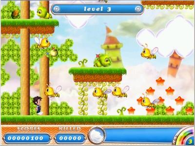 Rainbow Islands - Candyland 1.0 screenshot