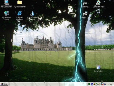 Rainy Screen Saver 2.2 screenshot