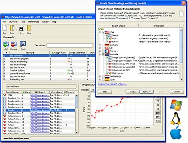 Rank Tracker SEO Tool 4.13.2 screenshot