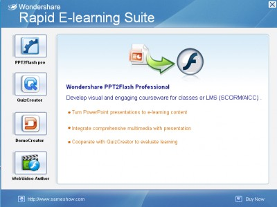 Rapid E-Learning Suite Deluxe 5.2.0 screenshot