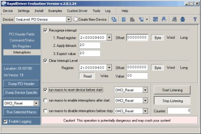 RapidDriver 2.1.5.1 screenshot