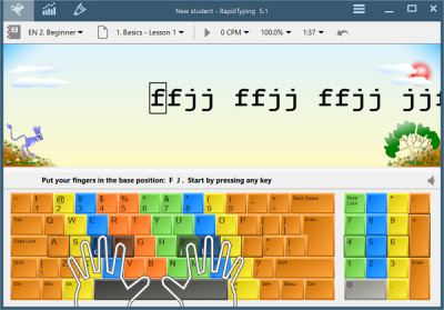 RapidTyping Portable 5.3 screenshot