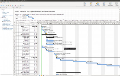 RationalPlan Project Viewer for Linux 5.3.7811 screenshot