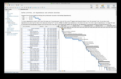 RationalPlan Single Project for Mac 5.2.7744. screenshot