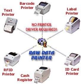 Raw Data Printer Component 2.0 screenshot