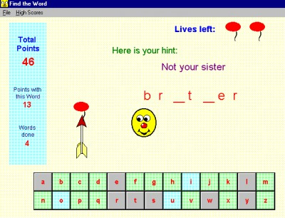 Ray's Spelling and Word Games 3.5 screenshot