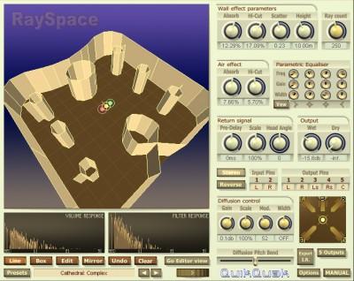 RaySpace 2.91 screenshot