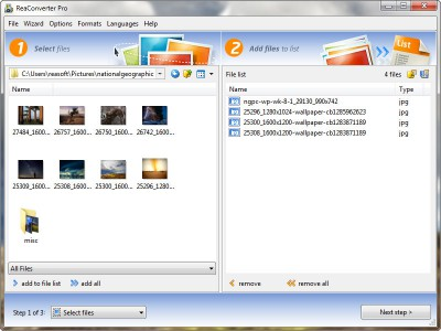 reaConverter Lite 7.4.83 screenshot