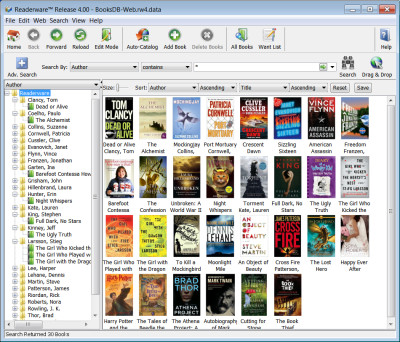 Readerware for Windows 4.12 screenshot