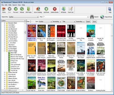 Readerware 3.15 screenshot