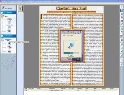 Readiris Pro 15 screenshot