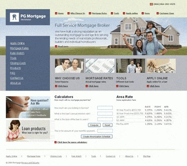 Ready Mortgage Site Solution 2010 screenshot