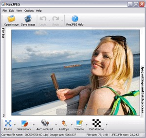 ReaJPEG converter to JPG 3.1 screenshot