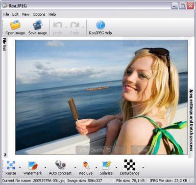 ReaJPEG Standard 4.5 screenshot
