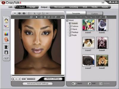 Reallusion CrazyTalk Media Studio Edition 4.6 screenshot
