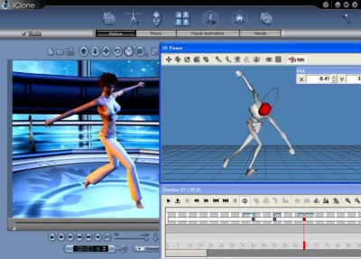 Reallusion iClone 2 Standard Edition 2.1 screenshot