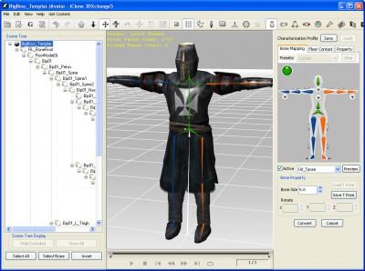 Reallusion iClone 3DXchange (German) 5.0 screenshot