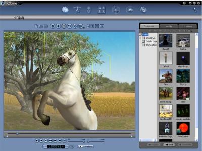 Reallusion iClone Standard Edition 2.5 screenshot