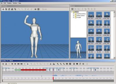 Reallusion It'sMe Motion Editor 1.0 screenshot
