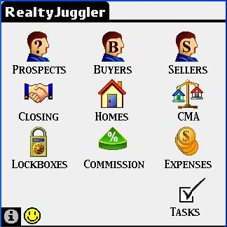 RealtyJuggler Deluxe for Palm 1.2.3 screenshot