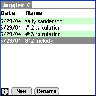 RealtyJuggler Real Estate Calculator for Palm 1.2.4 screenshot