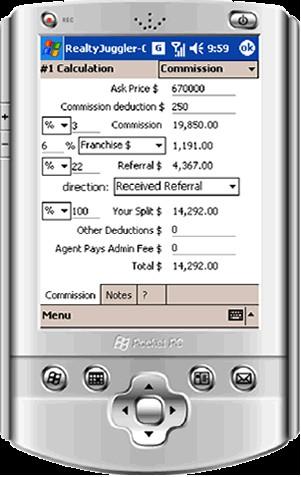 RealtyJuggler Real Estate Calculator for Windows M 1.2.4 screenshot