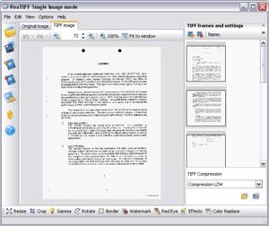 ReaTIFF convert to TIF 2.2 screenshot