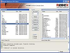 Rebex FTP/SSL Release 20 screenshot