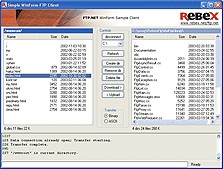 Rebex SFTP Release 20 screenshot