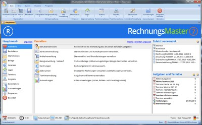 RechnungsMaster für Windows 7.0.156 screenshot