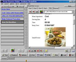 Recipe Organizer Deluxe 4.11 screenshot