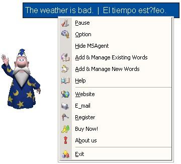 Recite Spanish Words 3.1 screenshot