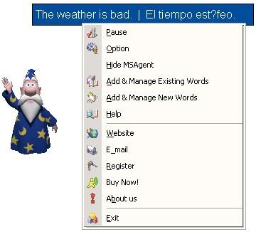 Recite Spanish Words 2.8 screenshot