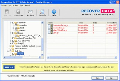 Recover Data for NTFS 3.0 screenshot