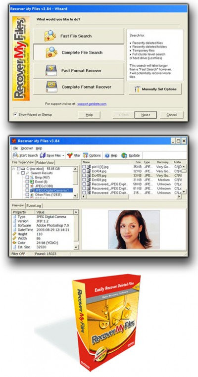 Recover Files Data Recovery 4.94 screenshot