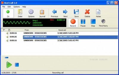 Red Call Recorder 1.1 screenshot