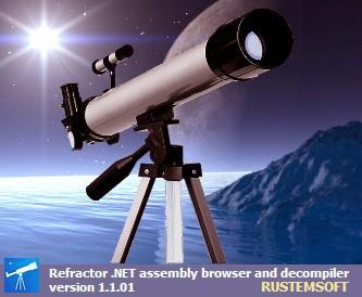 Refractor freeware .NET Decompiler 1.6.9 screenshot