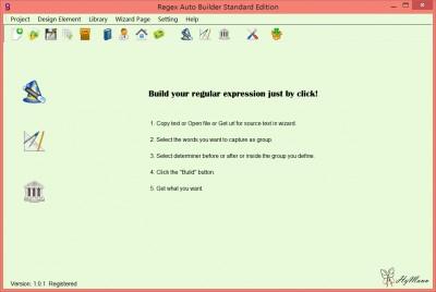 Regex Auto Builder Standard Edition 2.0.0 screenshot