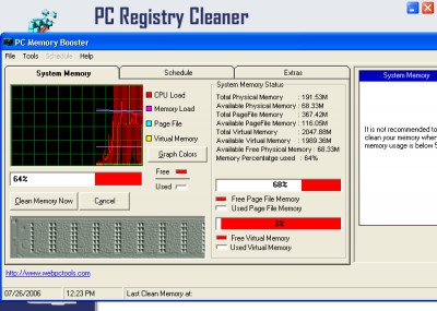 Registry Cleaner Utility 3.0 screenshot