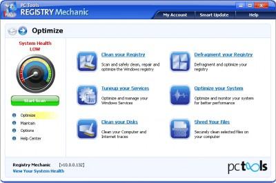 Registry Mechanic 10.0 screenshot