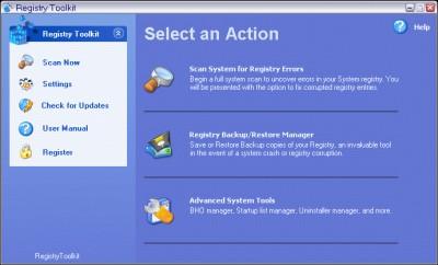 Registry Repair Toolkit 2.9.07 screenshot