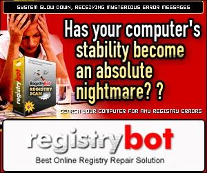 RegistryBot 2006 screenshot