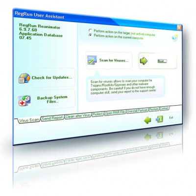 RegRun Security Suite Platinum 6.99.7.90 screenshot