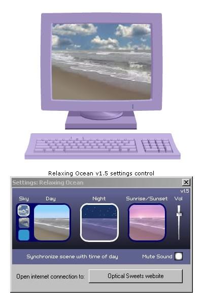 Relaxing Ocean 3.0.5 screenshot