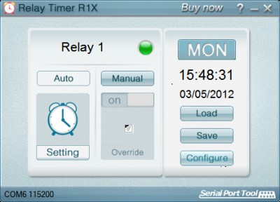 Relay Timer R1X 2.5.1 screenshot
