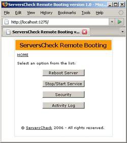 Remote Booting 1.3 screenshot
