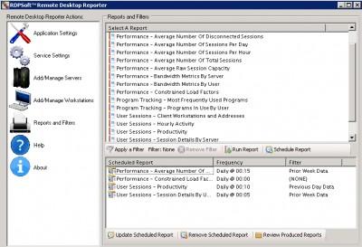 Remote Desktop Reporter 1.1.4778 screenshot