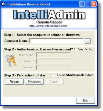 Remote Reboot 2.0 screenshot