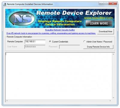 RemoteDeviceExplorer 1.3.3 screenshot