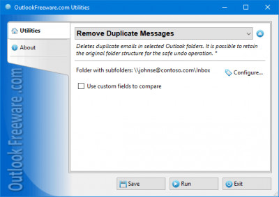 Remove Duplicate Messages for Outlook 4.13 screenshot